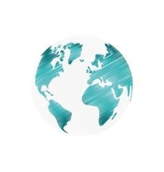Earth world planet vector