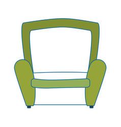 Armchair icon image vector
