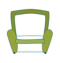 Armchair icon image vector
