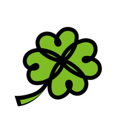 icon for irish saint patricks day vector image