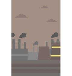 Industrial power plant vector