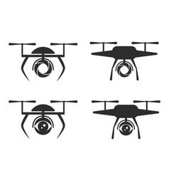 Logo dron vector