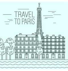 Paris Travel 04 A vector image