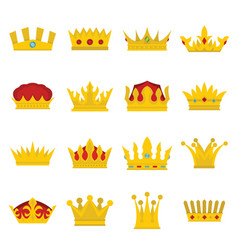 Royal crowns se vector