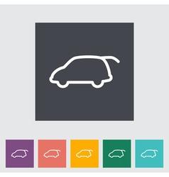 Liftgate car vector