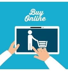 Buy online design vector