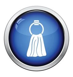 Hand towel icon vector image