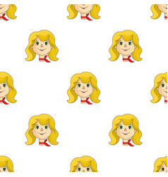 Mother icon in cartoon style isolated on white vector