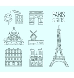 Paris Travel 09 A vector image