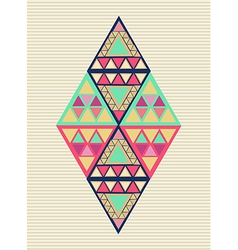 Unusual geometric composition vector