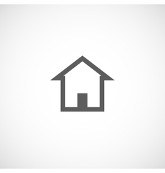 House building abstract real estate icon logo vector