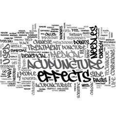 A primer on medical acupuncture text word cloud vector