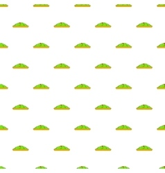 Golf course pattern cartoon style vector image