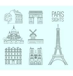 Paris travel 09 a vector