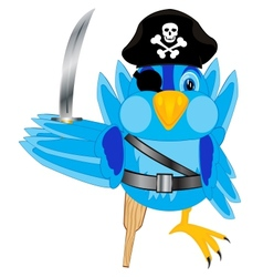 Sparrow pirate vector image