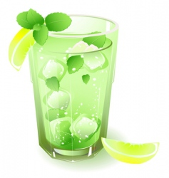 fruit drink vector image