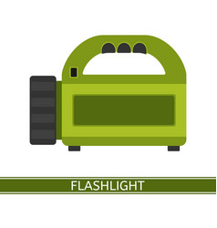 Flashlight icon vector