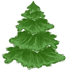 Christmas tree pine tree vector