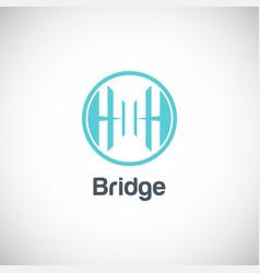 Bridge company logo vector