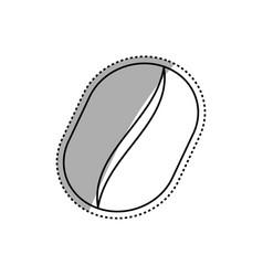 delicious coffee bean vector image vector image