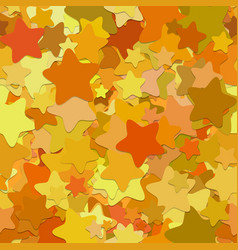 Repeating abstract star pattern background - from vector