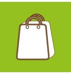 shopping bag design vector image vector image