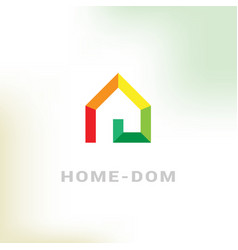 simple logo vector image vector image