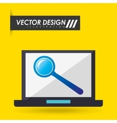 Computer hardware design vector