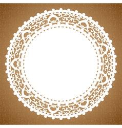 napkin vector image