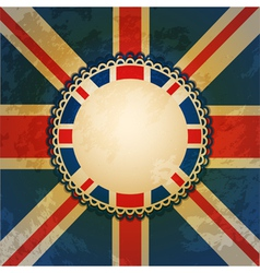 Union jack background vector