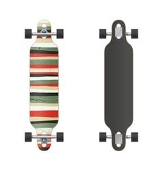 Longboard vector
