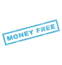 Money free rubber stamp vector