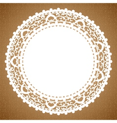napkin vector image vector image