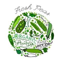 Peas health benefits 01 a vector