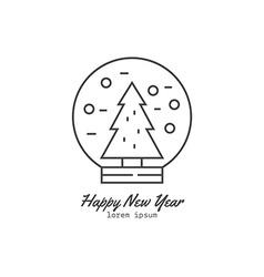 Winter Logos vector image