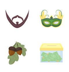 Business bank nature and other web icon in vector