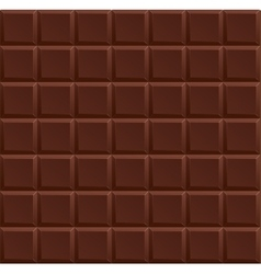 Dark chocolate background vector