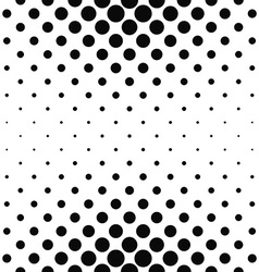 Repeating monochrome dotted pattern vector