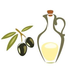 black olives symbol vector image