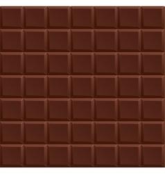 Dark Chocolate Background vector image