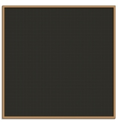Black chalk board for drawing vector
