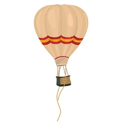 Aeronautic balloon vector