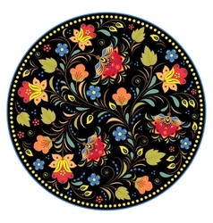 Traditional russian pattern vector