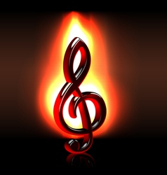 Passion for music vector image vector image