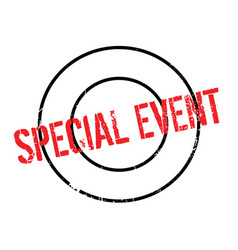 Special event rubber stamp vector