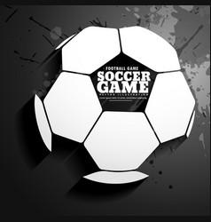Background for soccer game vector