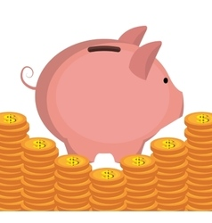 Money economy business and savings vector