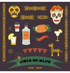Cinco de mayo fifth of may day vector