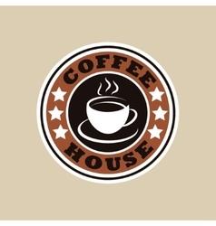Coffee house logo vector