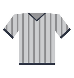 shirt clothe sport vector image vector image